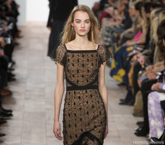 Модный показ новой коллекции Michael Kors. Осень / зима 2015-2016