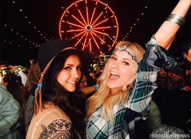 Звезды на фестивале Coachella 2016