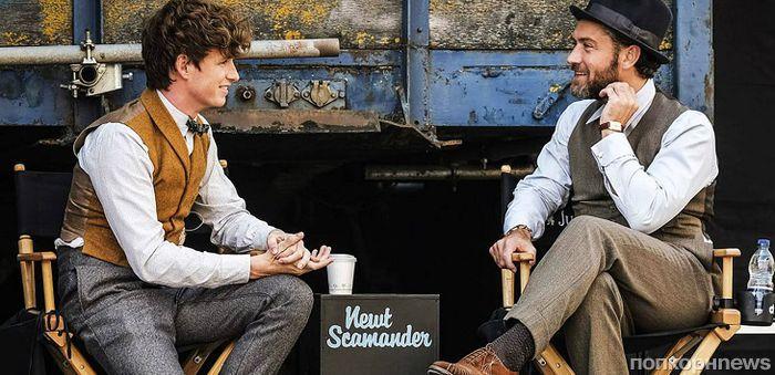 Эдди Редмэйн и Джуд Лоу на новых кадрах из «Фантастических тварей 2»