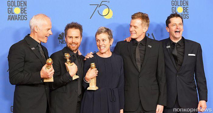«Золотой глобус» 2018: объявлен полный список победителей
