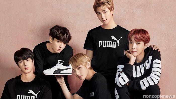 Участники BTS снялись в рекламной кампании PUMA