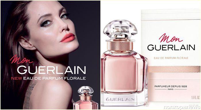 Анджелина Джоли снялась в рекламе аромата Mon Guerlain Florale
