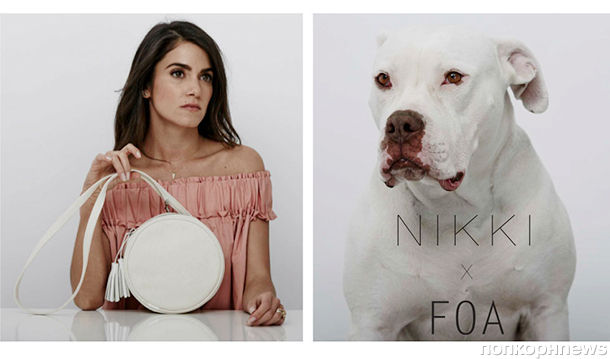 Никки Рид  снялась в рекламной кампании своих эко-сумок