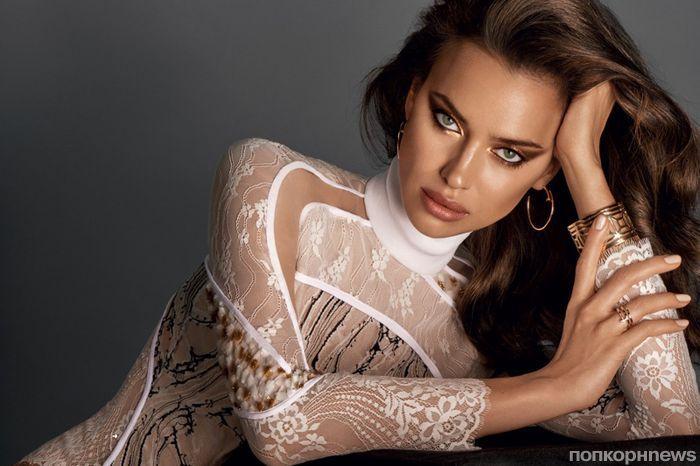 Ирина Шейк примеряет трендовые бьюти-образы для октябрьского Glamour Russia