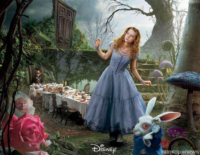 Дублированый трейлер фильма «Алиса в Зазеркалье»
