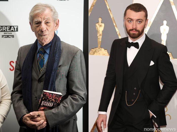 Иэн МакКеллен раскритиковал речь Сэма Смита на «Оскаре»