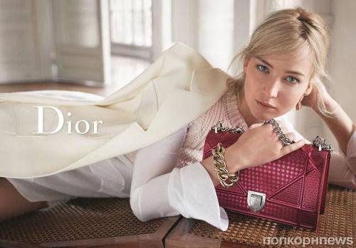 Дженнифер Лоуренс представила новую коллекцию сумок Dior