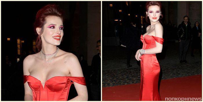 Белла Торн на премьере фильма «Полночное солнце» в Италии