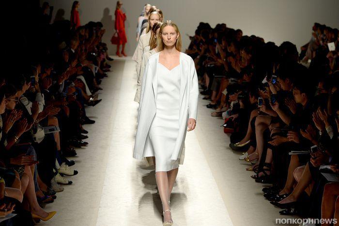 Модный показ новой коллекции Max Mara. Весна / лето 2014