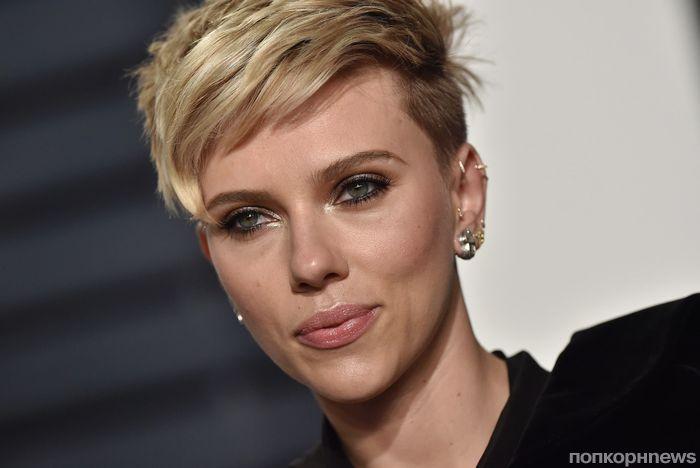 Скарлетт Йоханссон назвали обладательницей самых сексуальных губ в мире