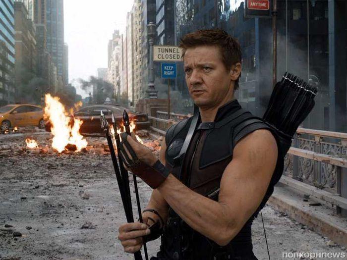 Джереми Реннер засветился на съемках «Мстителей 4»