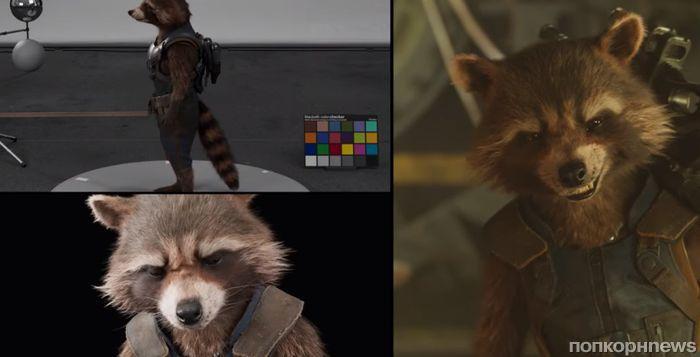 Видео: как выглядели «Стражи Галактики 2» до и после наложения визуальных эффектов