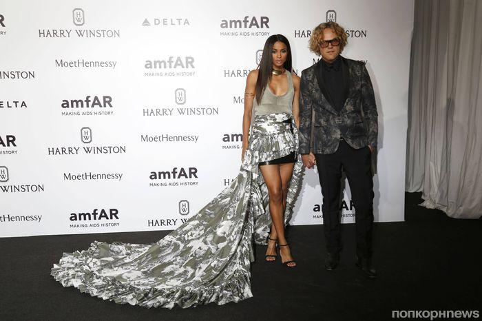 Звезды на благотворительном вечере amfAR в Милане
