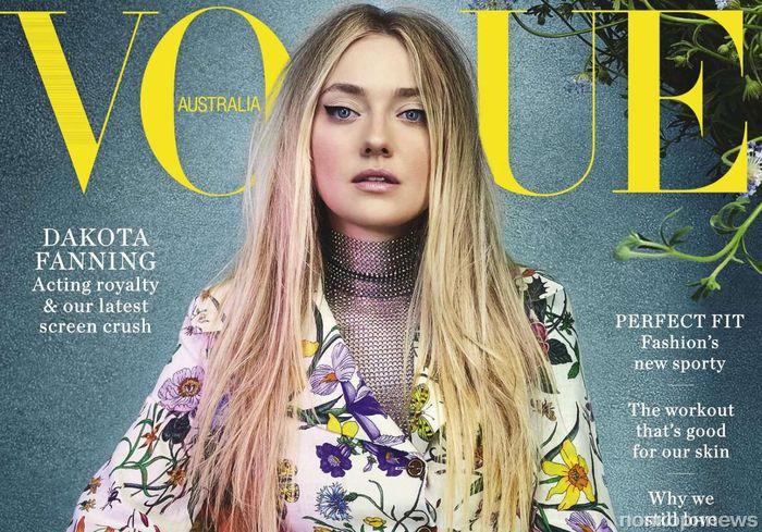 Дакота Фаннинг в фотосессии для февральского Vogue (Австралия)