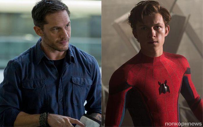 Почти официально: Том Холланд в роли Человека-паука будет в «Веноме» Тома Харди