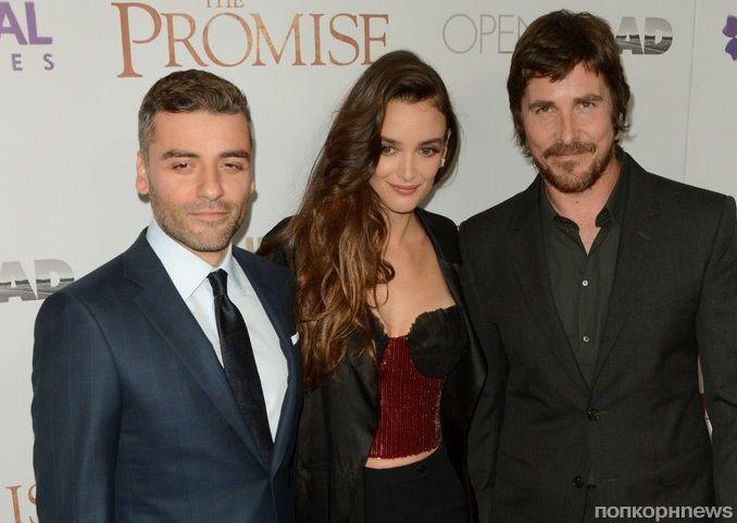Оскар Айзек и Кристиан Бэйл представили драму «Обещание» в Нью-Йорке