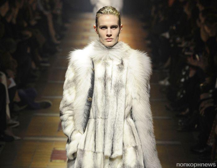 Модный показ новой коллекции Lanvin. Осень / зима 2014