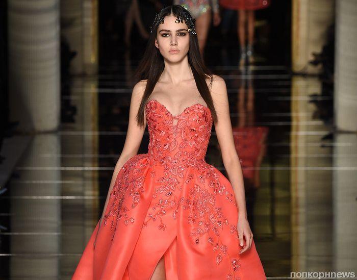 Модный показ новой коллекции Zuhair Murad Couture