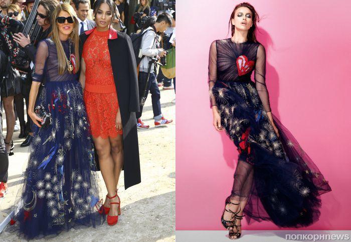 Fashion battle: Анна Делло Руссо и Ирина Шейк