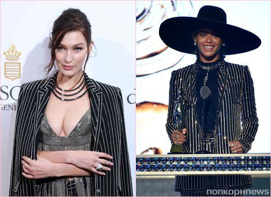 Fashion battle: Бейонсе и Белла Хадид в Givenchy