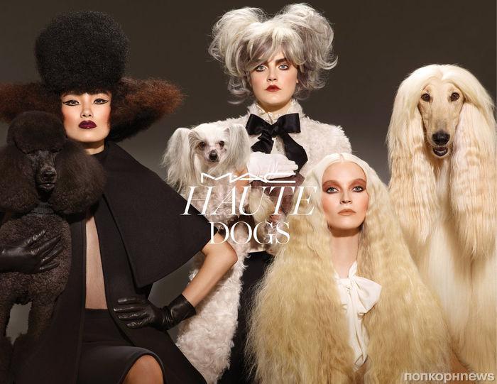 MAC посвящает новую коллекцию косметики собакам