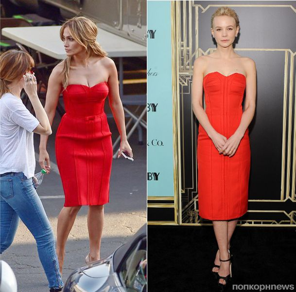 Fashion Battle: Дженнифер Лопес и Кэри Маллиган