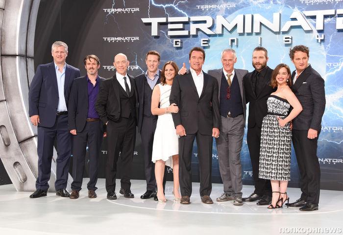 Премьера фильма «Терминатор: Генезис» в Берлине