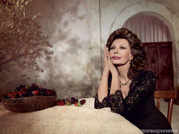 Dolce&Gabbana выпустили эксклюзивную помаду в честь дня рождения Софи Лорен