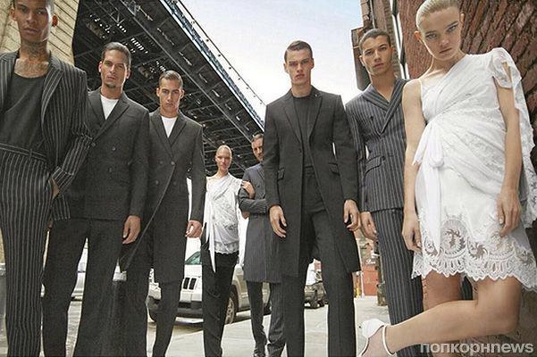 Наталья Водянова, Миранда Керр и другие в новой рекламной кампании Givenchy