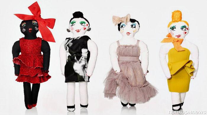 Рождественские куклы от Lanvin
