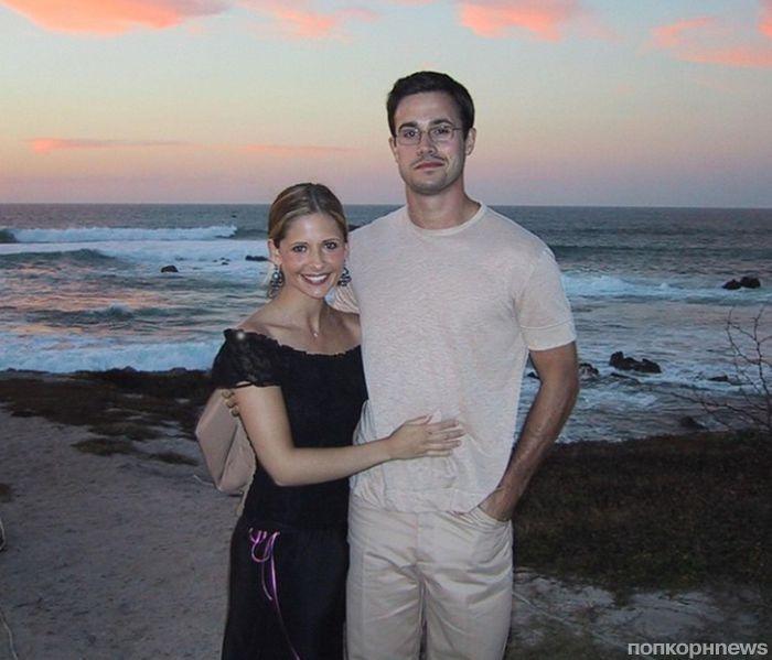 Сара Мишель Геллар и Фредди Принц-младший отметили 13-ю годовщину свадьбы
