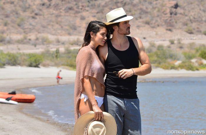 Фото: Никки Рид и Йен Сомерхолдер проводят романтический отпуск в Мексике