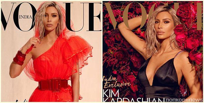 Ким Кардашьян снялась для обложки Vogue и рассказала, что ей не нравится в родственниках