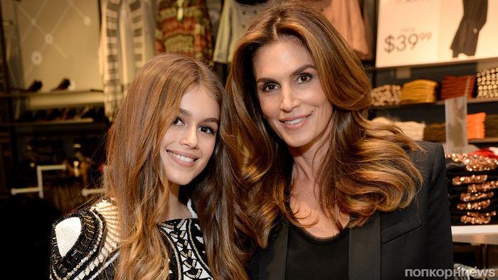 16-летняя дочь Синди Кроуфорд выпустит коллекцию одежды с Карлом Лагерфельдом