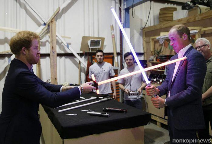 Джон Бойега подтвердил камео принцев Уильяма и Гарри в «Звездных войнах: Последние джедаи»