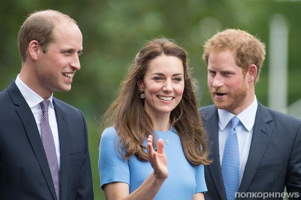 Принц Гарри прокомментировал грядущее пополнение в семье Кейт Миддлтон и принца Уильяма