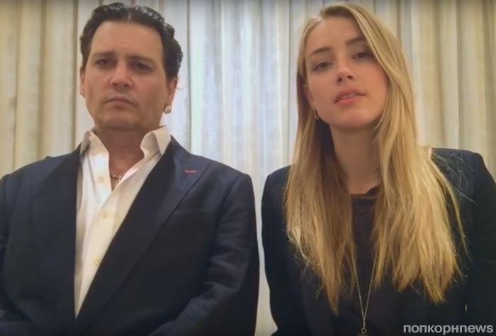 Видео: Джонни Депп и Эмбер Херд извинились перед жителями Австралии
