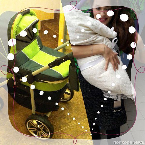 Анна Калашникова показала первое фото новорожденного сына