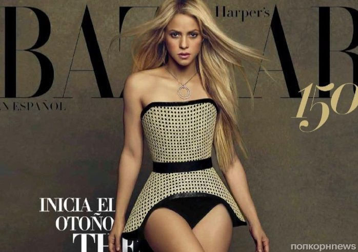 Шакира примеряет модные образы в фотосете для мексиканского Harper's Bazaar