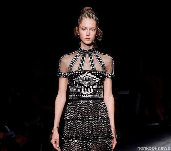 Модный показ новой коллекции  Valentino. Весна / лето 2016