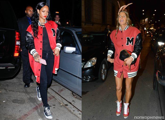 Fashion battle: Рианна и Анна Делло Руссо
