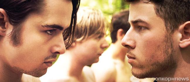 Ник Джонас и Джеймс Франко в трейлере фильма «Козел»