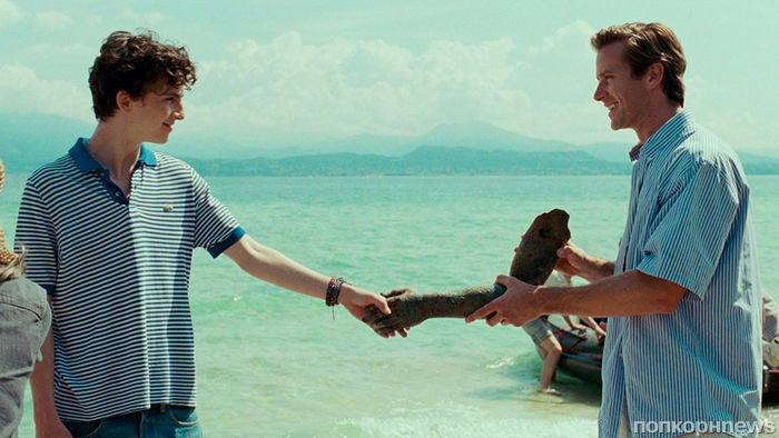 Кинокритики назвали «Зови меня своим именем» лучшим фильмом 2017 года