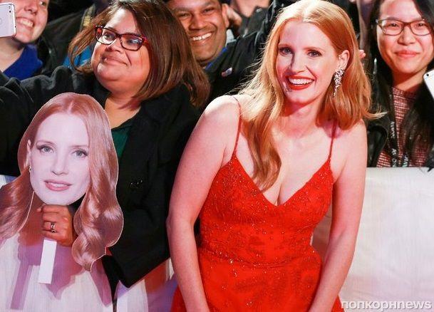 Джессика Честейн презентовала новый фильм «Женщина идет впереди» на кинофестивале в Торонто