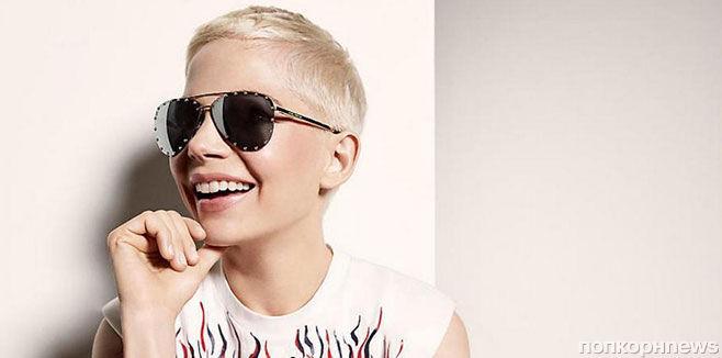 Мишель Уильямс снялась в рекламе солнцезащитных очков Louis Vuitton