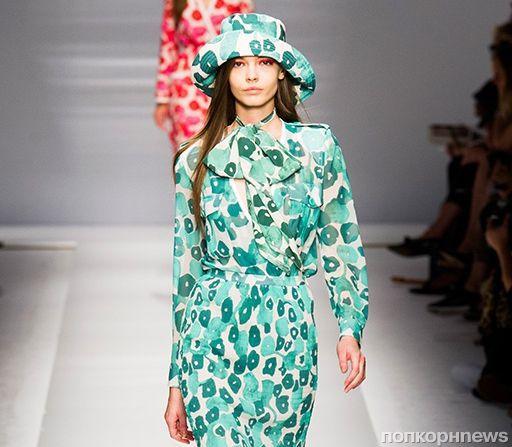 Модный показ новой коллекции MaxMara. Весна / лето 2015