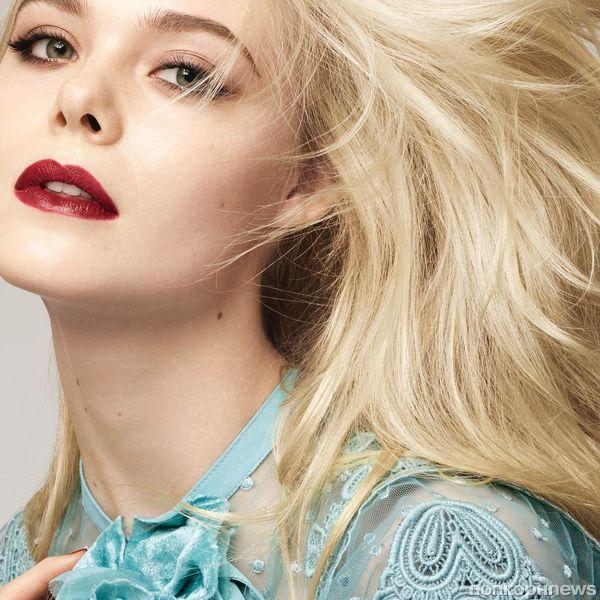 Фото: 19-летняя Эль Фаннинг снялась в рекламной кампании L'Oreal