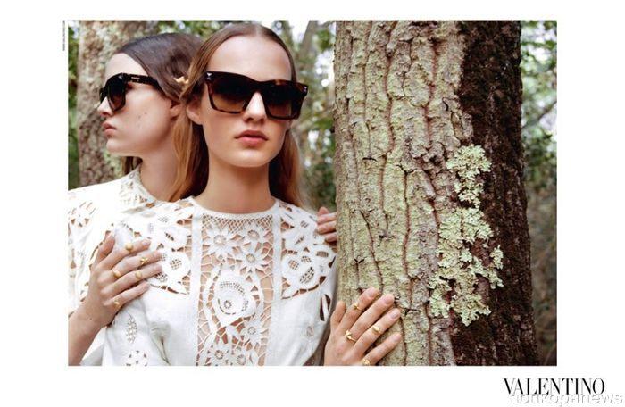 Новая рекламная кампания Valentino. Весна / лето 2015