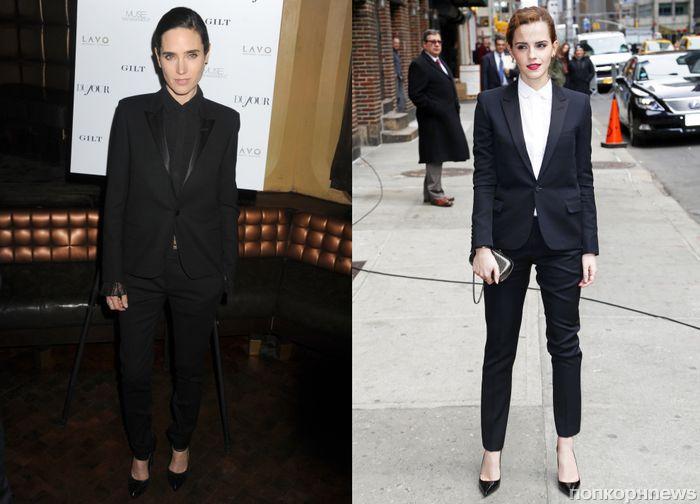 Fashion battle: Дженнифер Коннелли и Эмма Уотсон