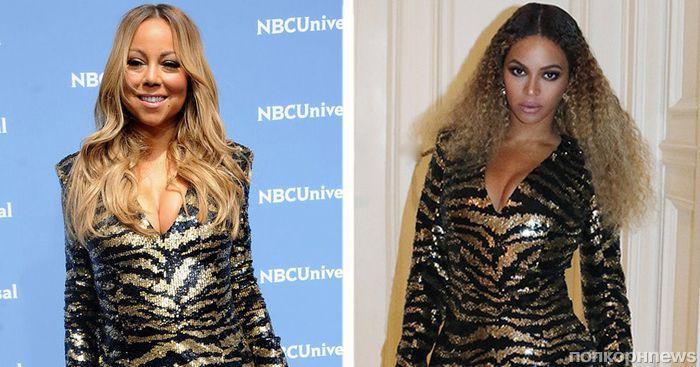 Fashion battle: Бейонсе и Мэрайя Кэри в Balmain